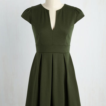 Meet Me at the Punch Bowl Dress in Juniper | Mod Retro Vintage Dresses | ModCloth.com