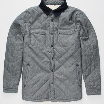 Univibe Earthbound Mens Jacket Chambray  In Sizes