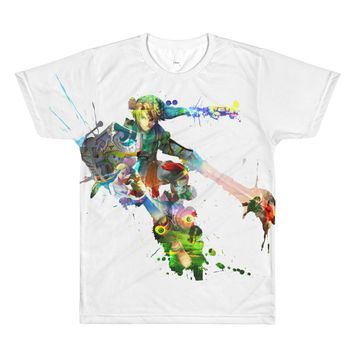 Legend of Zelda Watercolor Print T-Shirt