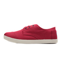 Toms: Mens Paseos (Red Canvas)