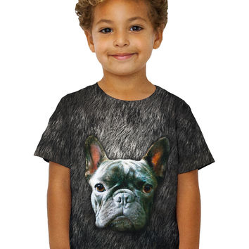 Kids French Bulldog Face
