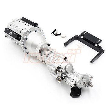 Xtra Speed Aluminum CNC & Alloy, V8 Engine 2 Speed For SCX10 II #XS-SCX230090S,
