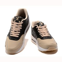 Trendsetter  Supreme x Louis Vuitton x Nike Air Max 1   Women Men Fashion Casual Sneakers Sport Shoes