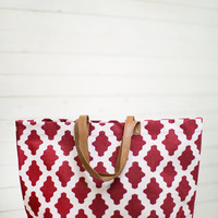 Gameday Dot Tote Bag