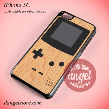 Gameboy Wood Phone case for iPhone 5C and another iPhone devices