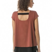 Orchard Maternity and Nursing Top in Picante