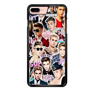 Justin Bieber Collage iPhone 7 Plus Case