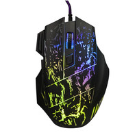 New Arrival 5500 DPI 7 Button LED Optical USB Backlit Wired Mouse Gamer Mice Computer Mouse Gaming Mouse For Pro Gamer