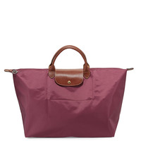 Le Pliage Large Travel Tote Bag, Fig - Longchamp