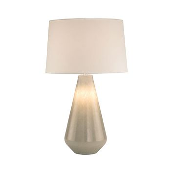 8005 Clear Glass Table Lamp