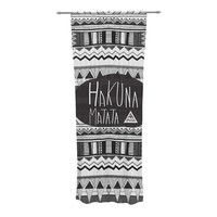"Vasare Nar ""Hakuna Matata"" Decorative Sheer Curtains"