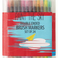 Paint the Sky Brush Combo Markers Set of 24
