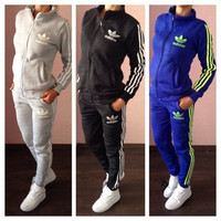 Adidas: Sports / add / thick / cotton / suit woman