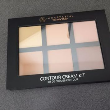 BNIB Anastasia Beverly Hills Cream Contour Kit Palette LIGHT Free Shipping!