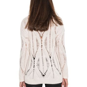 rendezvous pullover in ivory by one grey day #onegreyday