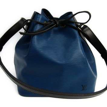 Louis Vuitton Epi M44152 Women's Shoulder Bag Bicolor BF312036