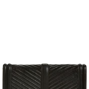 Rebecca Minkoff 'Chevron Quilted Love' Clutch