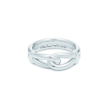 Tiffany & Co. -  Paloma Picasso® Knot ring in sterling silver.