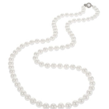 Nadri Faux Pearl Necklace