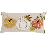 Pumpkin Patch Lumbar Pillow
