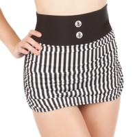 Anchor Baby Retro Skirted Bikini Bottom