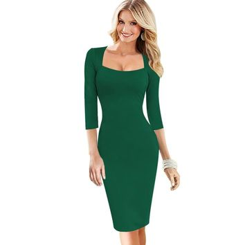 a52da1d6ac32b Best Vintage Green Cocktail Dress Products on Wanelo