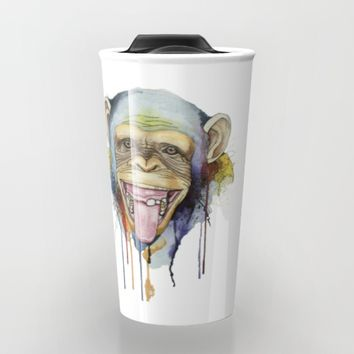 monkey 2 Travel Mug by Annie illustrations