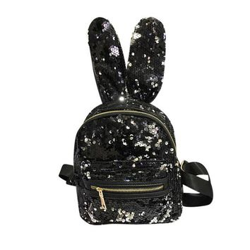 Unicorn Unique Sequins Backpack for Girls Women