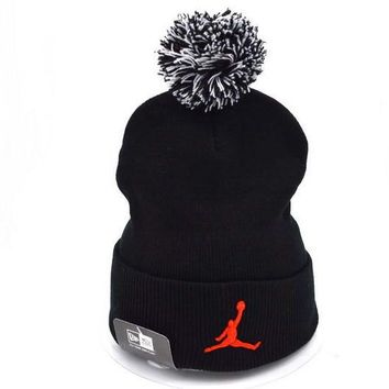 Jordan Women Men Embroidery Beanies Knit Hat Cap