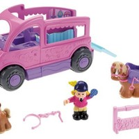 Little People Jump 'n Ride Pony Trailer