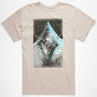 Element Balance Mens T-Shirt Silver  In Sizes