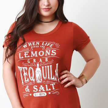 When Life Gives You Lemons Graphic Tee