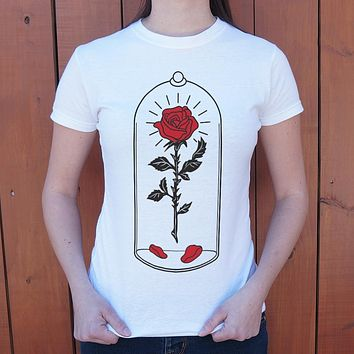Enchanted Rose [Beauty and the Beast] Women's T-Shirt