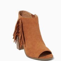 Leanna Fringe Booties | Shoes - Rodeo | charming charlie