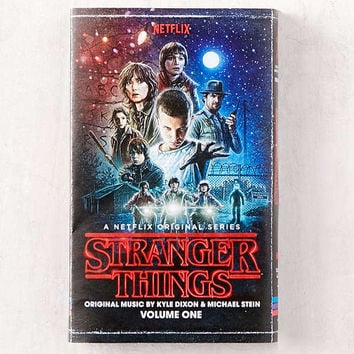 Kyle Dixon & Michael Stein - Stranger Things Soundtrack Vol. 1 Exclusive Cassette Tape | Urban Outfitters