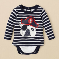 newborn - boys - 2-in-1 dog bodysuit | Children's Clothing | Kids Clothes | The Children's Place