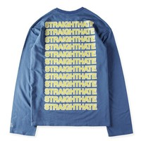 ca kuyou VETEMENTS Long Sleeve T-Shirts Mens Hoodie Sweat Straighthate