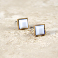 Little Square Studs