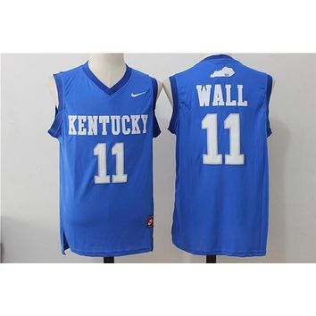 NCAA University Basketball Jersey Kentucky Wildcats # 11 John Wall