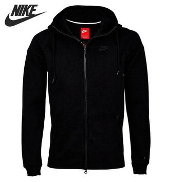 VONESC6 Original New Arrival 2016 NIKE TECH FLEECE WINDRUNNER Men's Jacket Hooded Sportswear