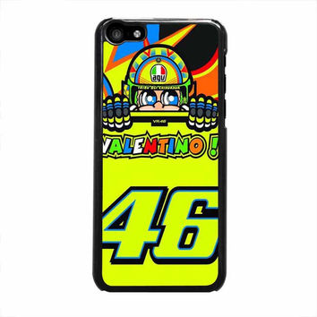 valentino rossi the doctor 46 logo iphone 5c 5 5s 4 4s 6 6s plus cases