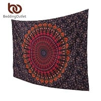 BeddingOutlet Boho Tapestry Love Stretches Printed Hanging Wall Tapestries Indian Home Decor 140cmx210cm 175cmx220cm 1Pc Fashion