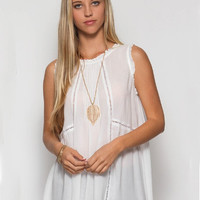 Wild Things Top - White