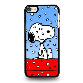 snoopy dog christmas ipod touch 6 case cover  number 1