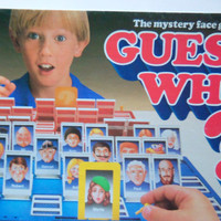 Vintage Guess Who Board Game 1987