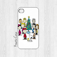 iPhone 5 case, iPhone 5S case, Christmas Phone Cases, Holiday, Charlie Brown, Merry Christmas, - X006