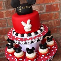 party time / Mickey Mouse cake