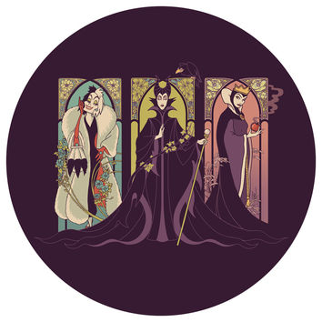 Enkel Dika's Mistresses of Evil Circle Decal