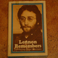 Vintage Book John Lennon Remembers The Rolling Stones Interview by Jann Wenner