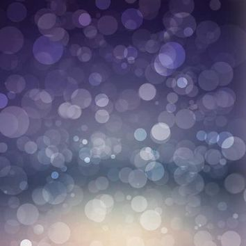 MIDNIGHT BLUE BOKEH VINYL BACKDROP - 3X4 - LCBD1440 - LAST CALL